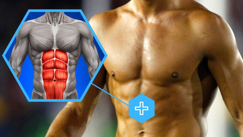 A footballer's upper body is not just about good 'ABS'