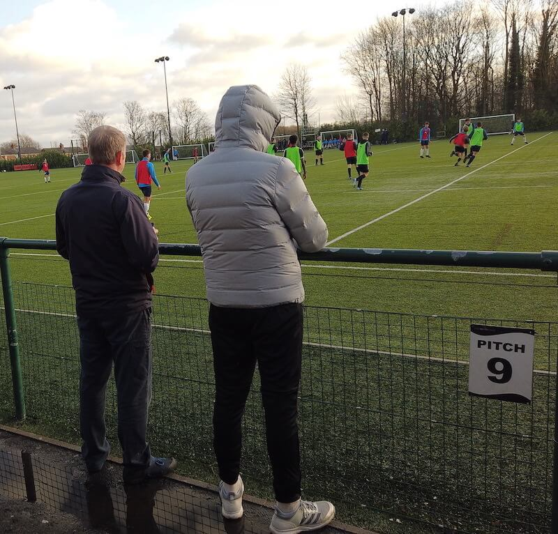 parents-watch-children-play-at-a-football-trial-in-the-uk-football4football