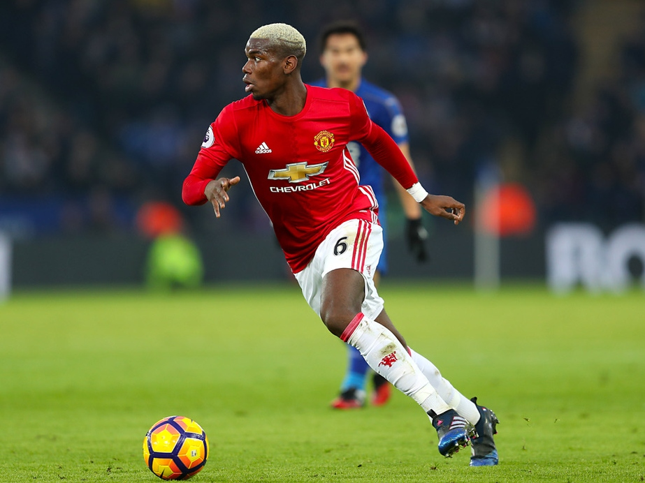 Pogba for Manchester United, linked with move to Real Madrid