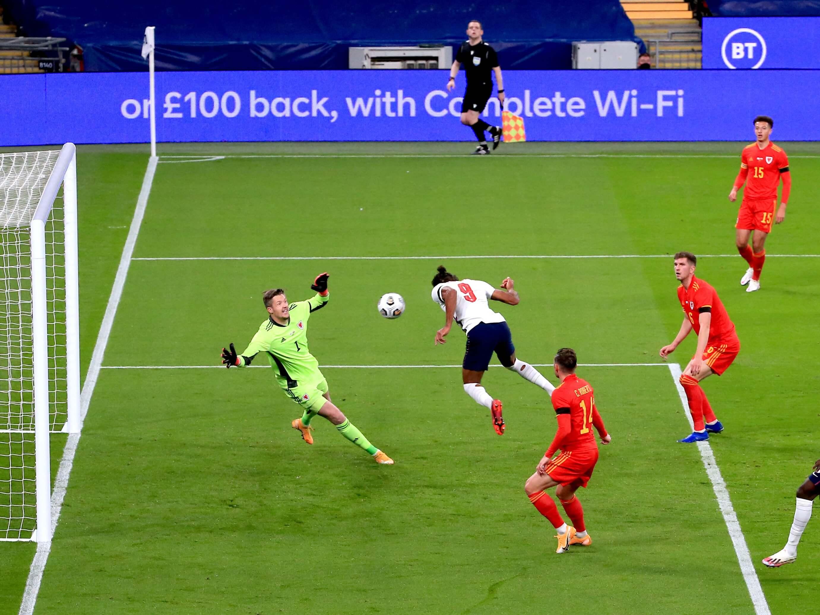 Dominic Calvert-Lewin scores for England