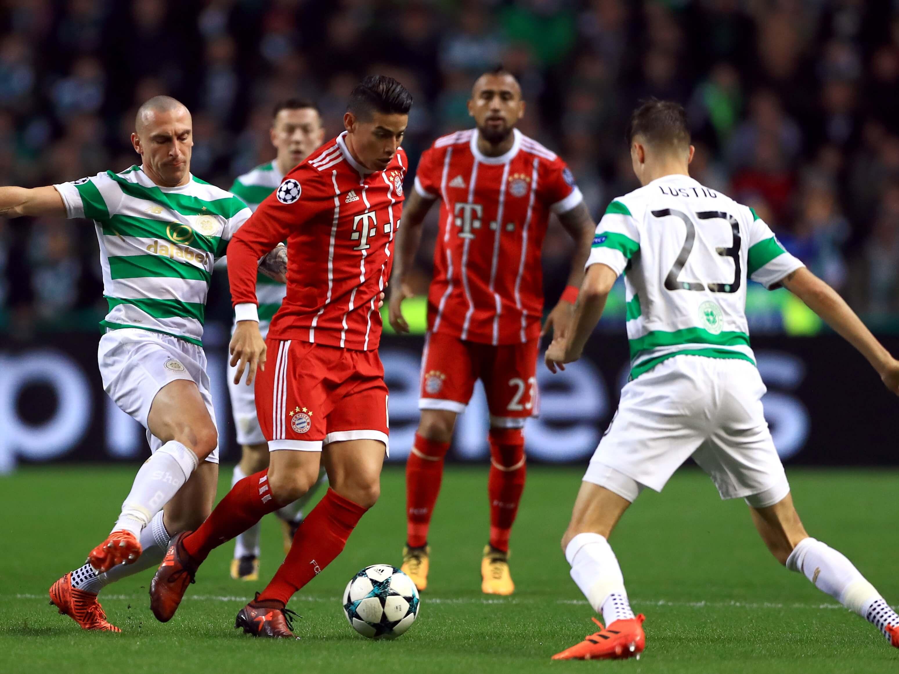 James Rodriguez for Bayern Munich